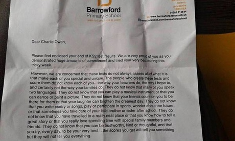 Barrowford letter