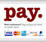Pay online by debit or credit card.